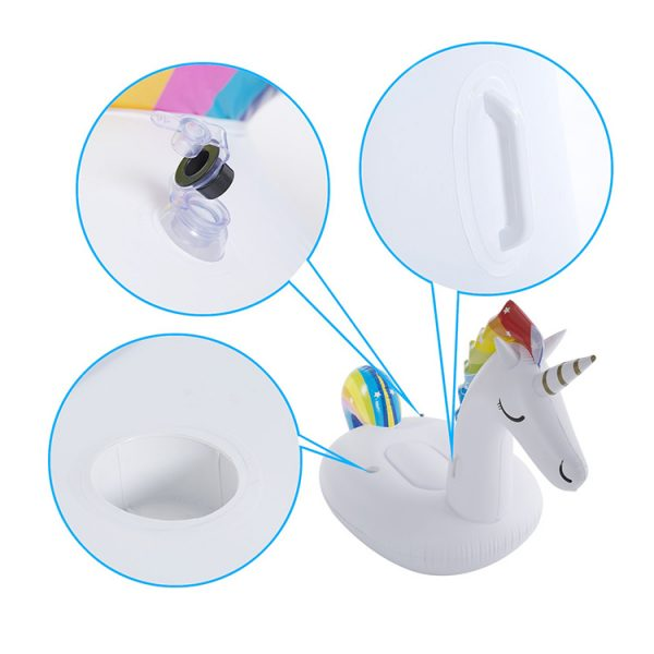 blow up unicorn pool float