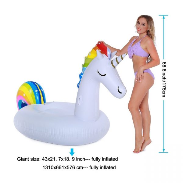 incredible novelties giant unicorn pool float