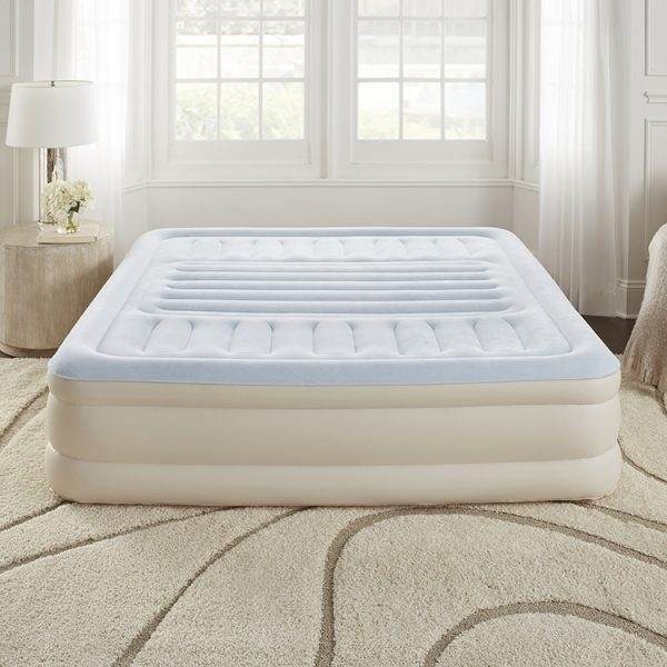 king size air bed with built in pump