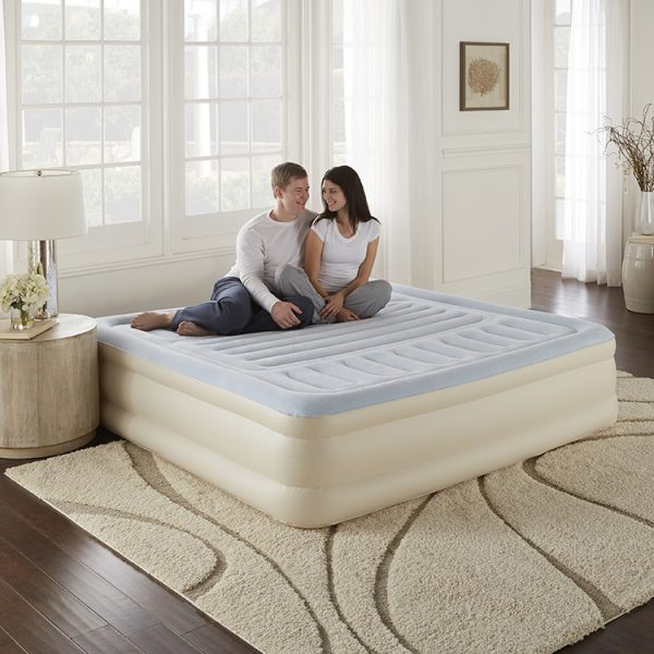 air bed king size with built in pump