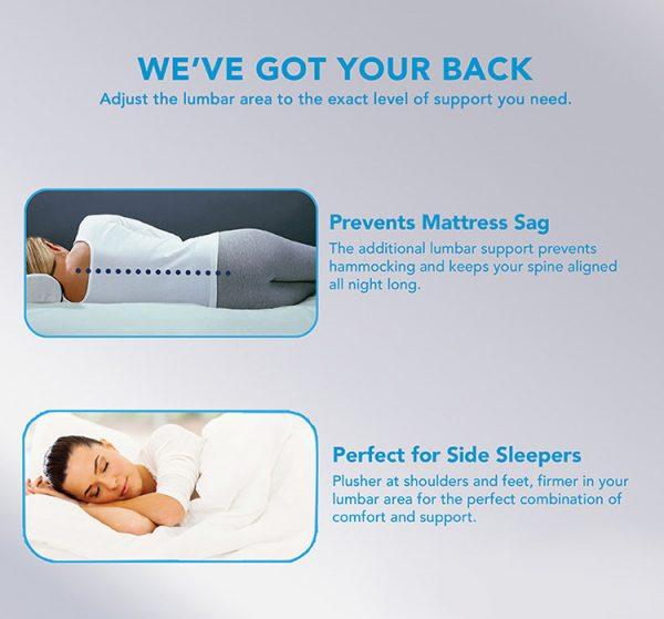 soft back elevated air bed