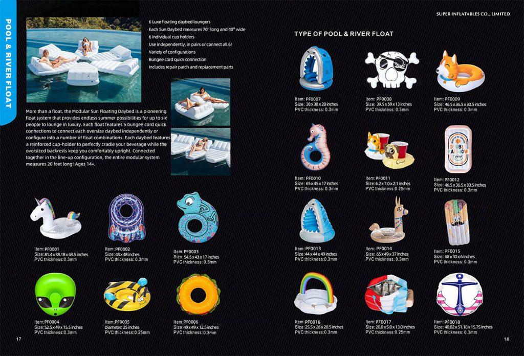 pool float manufacturer