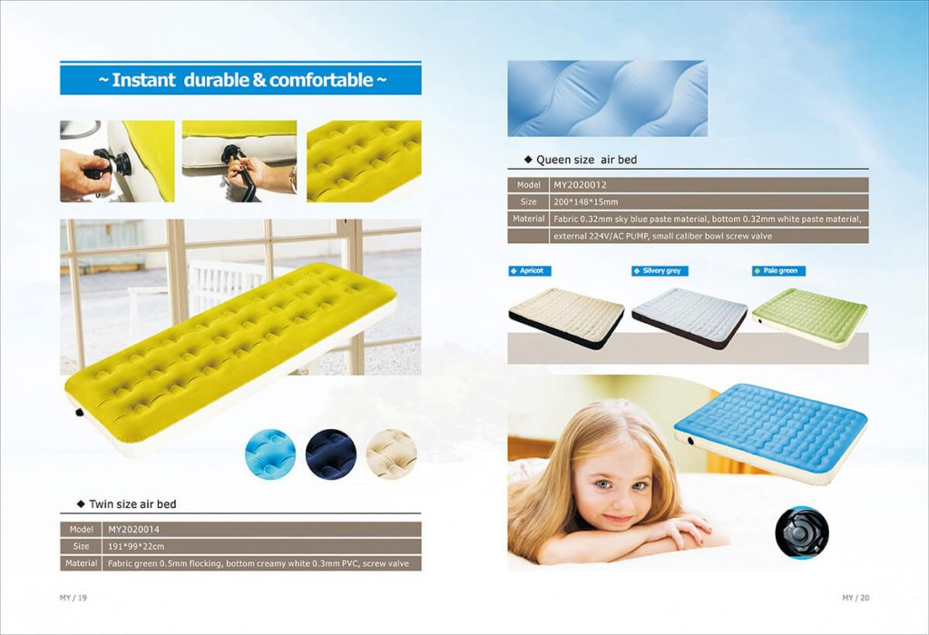 air bed headboard