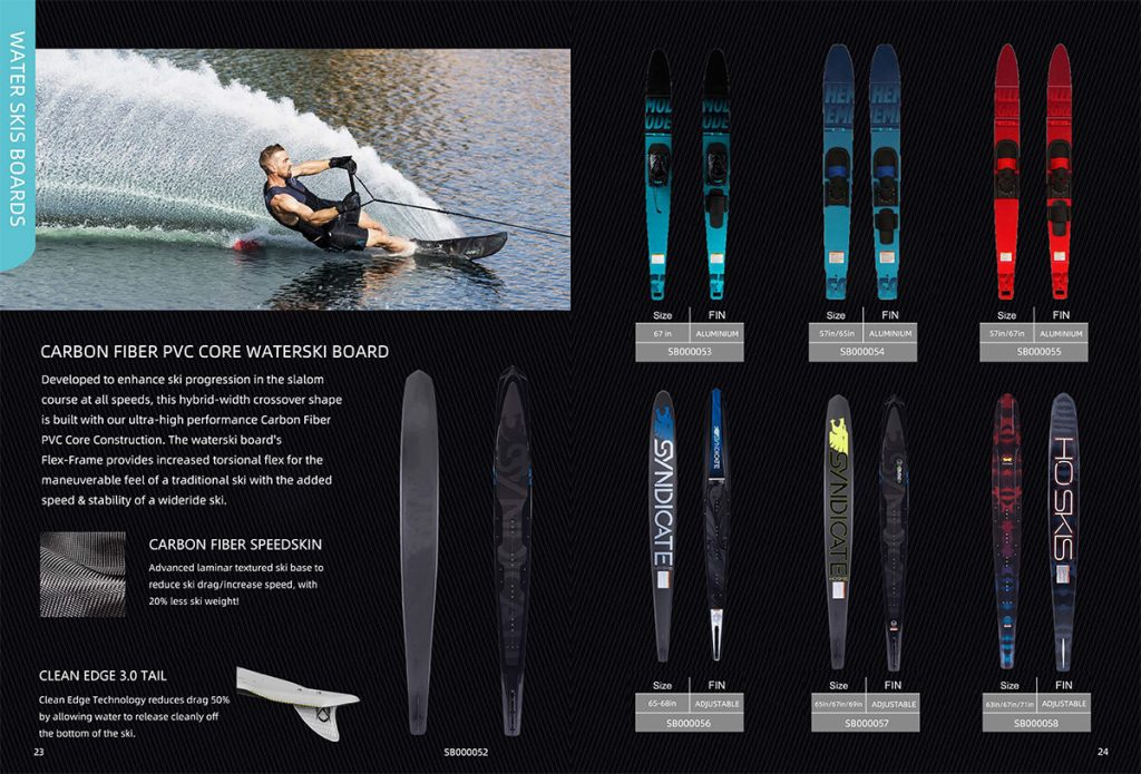 water ski board manufacturer