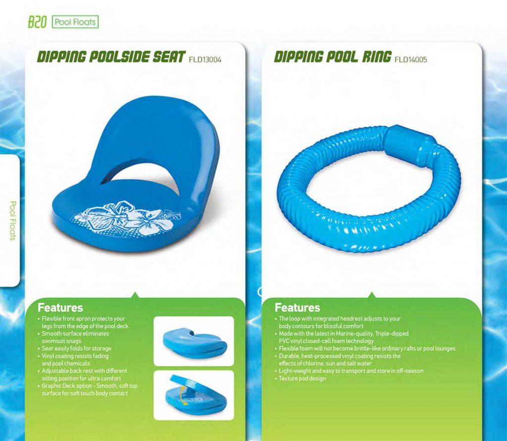 foam floating chair