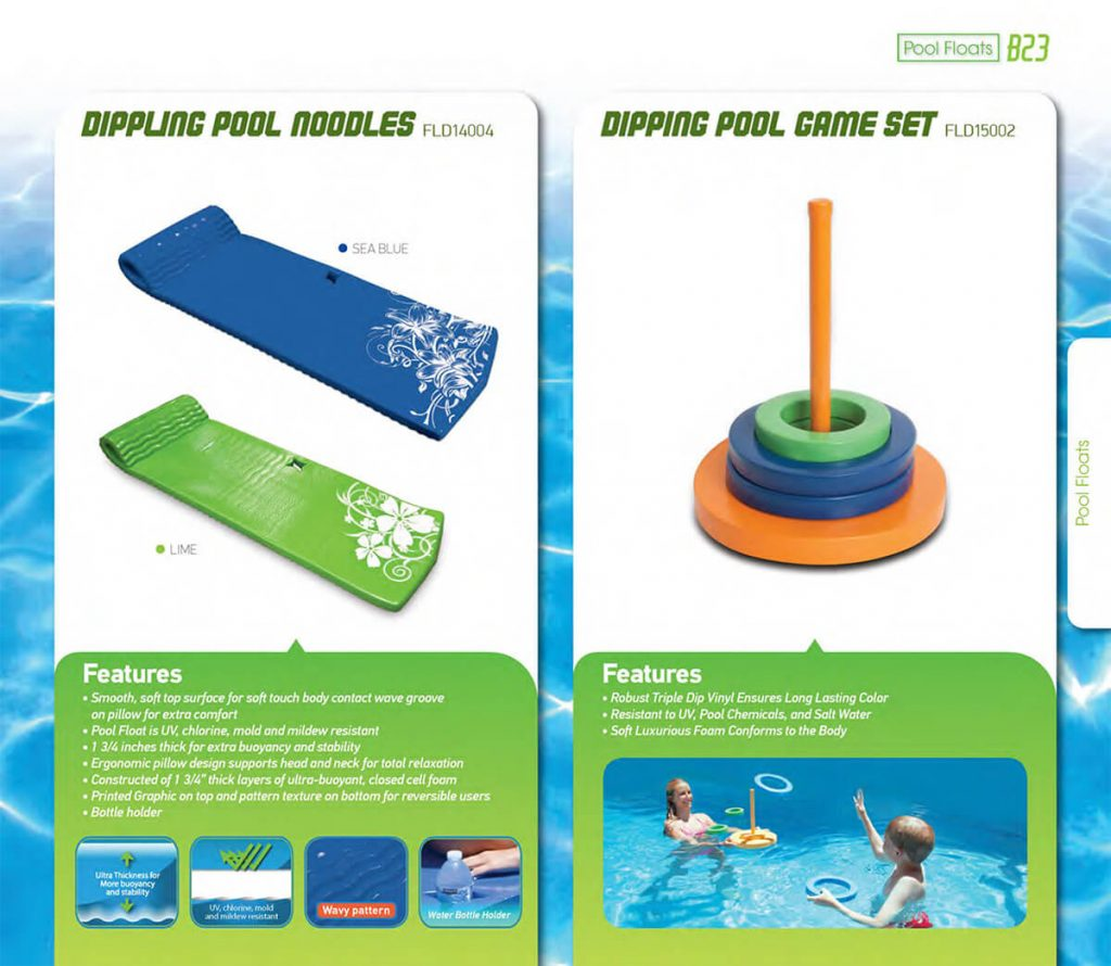cheap foam floating water mats