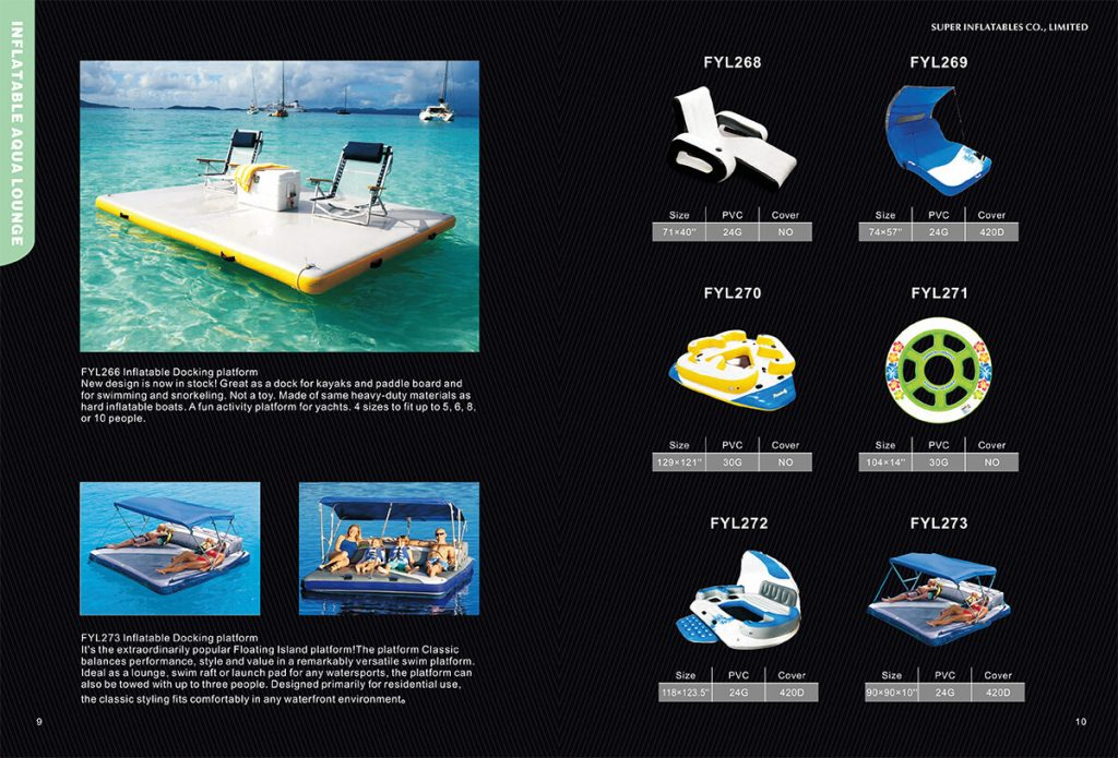 inflatable lounger manufacturer