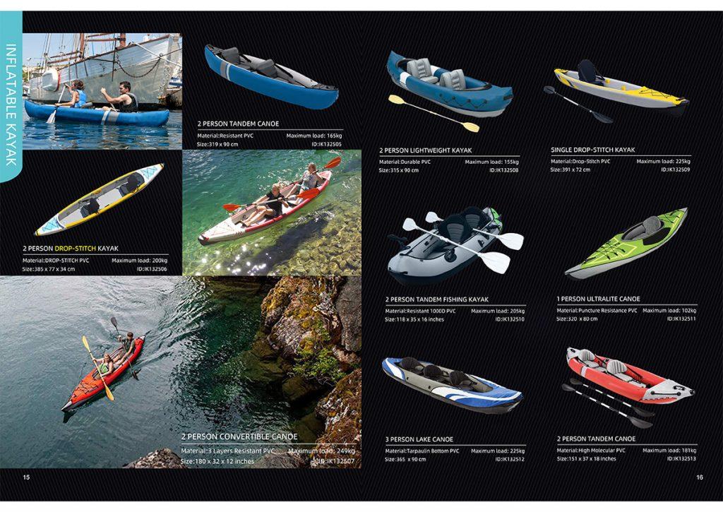 Inflatable kayak manufacturer