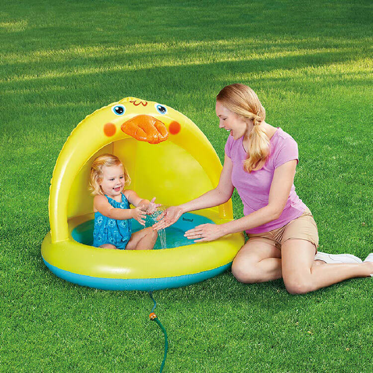 Inflatable Sprinkler with Canopy