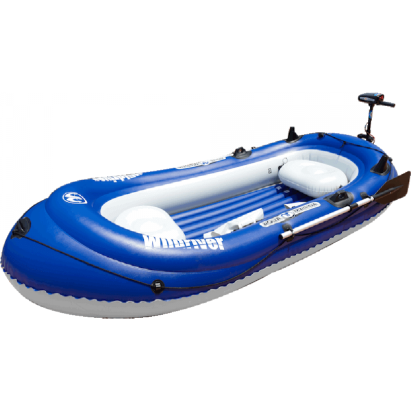 Inflatable Boat with Electric Motor