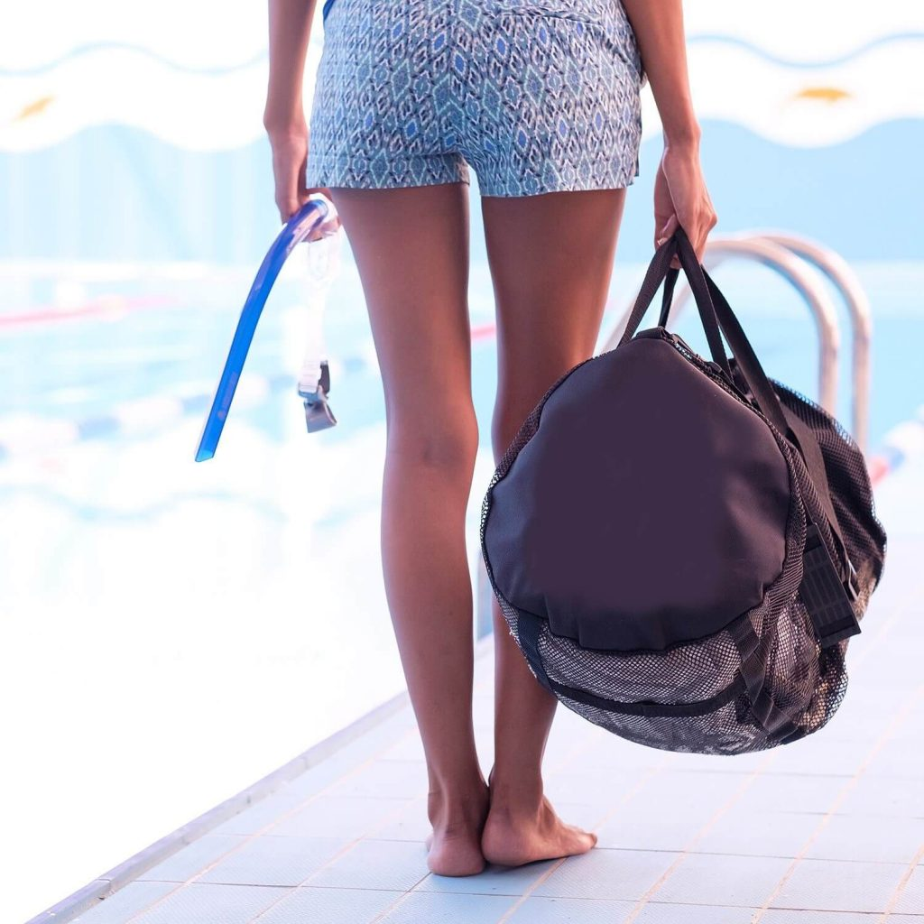 Foldable Mesh Duffle Bag